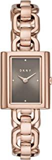DKNY Women's Quartz Watch analog Display and Stainless Steel Strap, NY2799