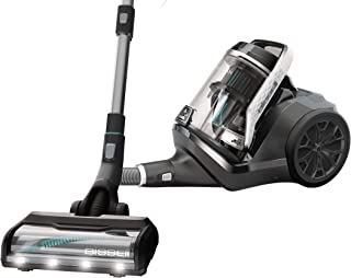 Bissell SmartClean Canister Powerfoot Vacuum Cleaner, Multi-Colour, 2229E