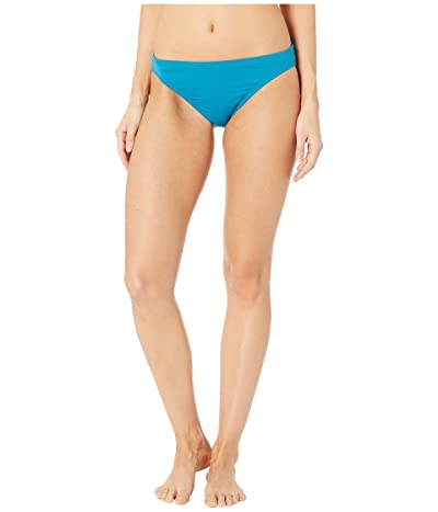 MICHAEL Michael Kors Iconic Solids Classic Bikini Bottoms (Lux Teal) Women