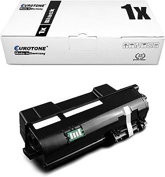 2x Eurotone Toner Für Kyocera Ecosys P2040dw P2040dn Ersetzt Tk 1160 Tk1160 Schwarz Bürobedarf Schreibwaren