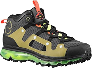 buy popular 44a9e f552f Nike Air Max Minot - Newsprint Volt-Metallic Silver-Black, 6.5 D