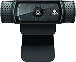 Logitech Webcam C920 HD Pro - 1080p Widescreen Camera for Video Calling & Recording for Desktop or Laptop
