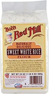 Bob's Red Mill Sweet White Rice Flour - 24 oz - 2 Pack