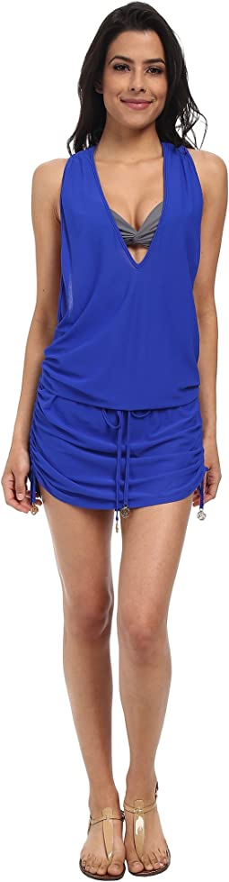 Luli Fama Cosita Buena T-Back Mini Dress Cover-Up