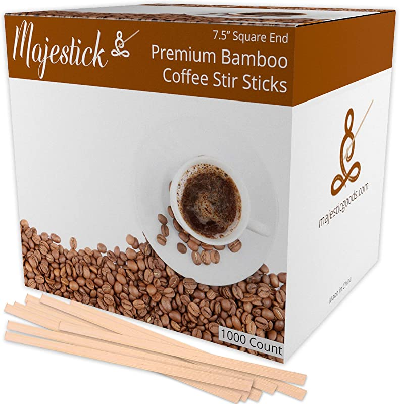 Bamboo Wooden Coffee Stir Sticks By Majestick Eco Friendly Wooden Coffee Stirrers 7 5 Bamboo Wood Stick Stirrer 1000 Box