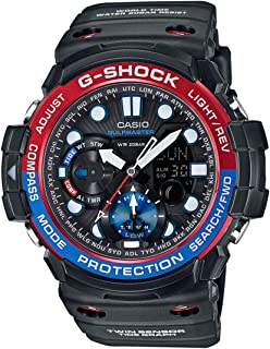 Casio Mens Quartz Watch, Analog Display and Resin Strap GN-1000-1A