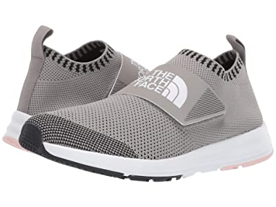 The North Face Cadman Moc Knit (Silt Grey/Pink Salt) Women