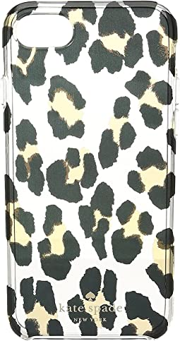 Leopard Clear Phone Case for iPhone® 7