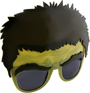 Sunstaches Marvel Avengers Hulk Character Sunglasses, Party Favors, UV400