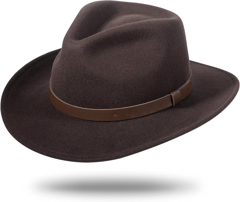 Brand Cheap Sale Venue Cowboy Hats for Men Women 100% Wool Gambler Western Lowest price challenge Outback Felt