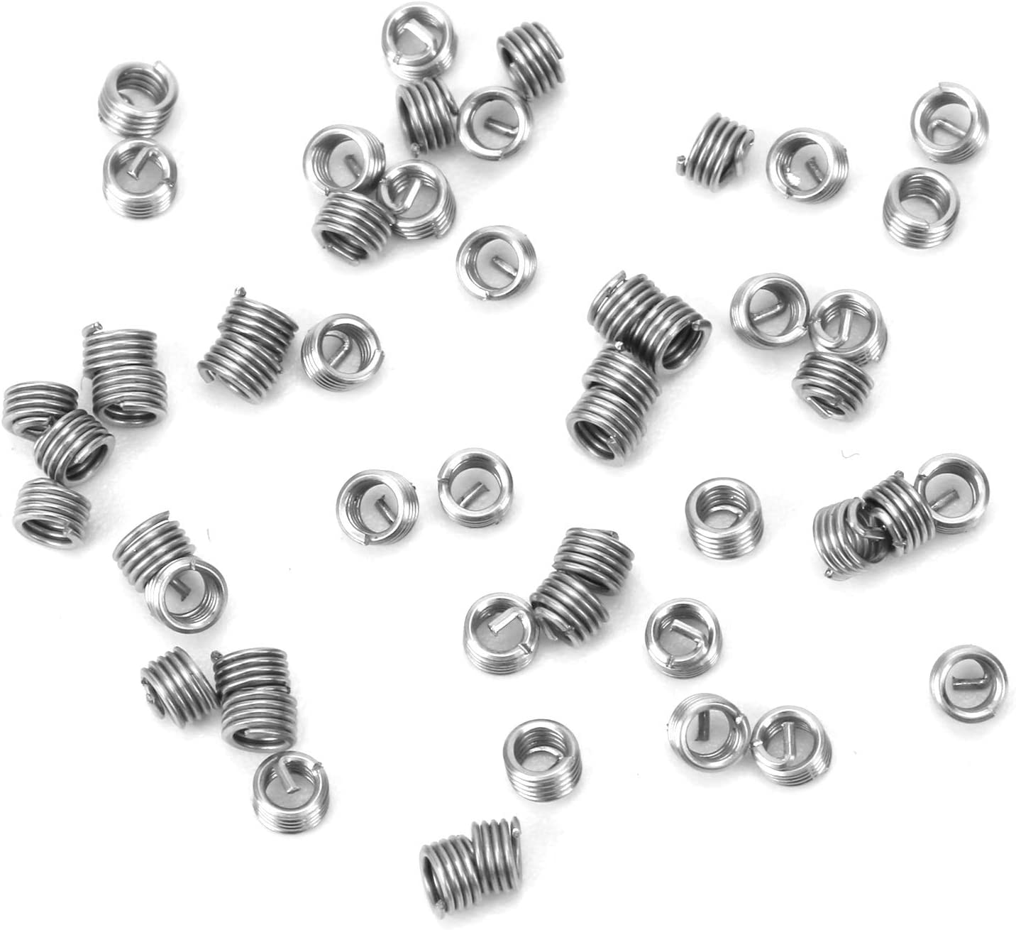 50Pcs Wire Thread Gorgeous Insert Coiled Threaded Free shipping on posting reviews Expa Bushing Nut Sleeve