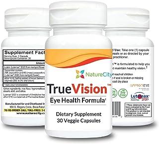 True-Vision Saffron & Lutein Eye Support Supplement AffronEYE LuteMax 20/20 (3)