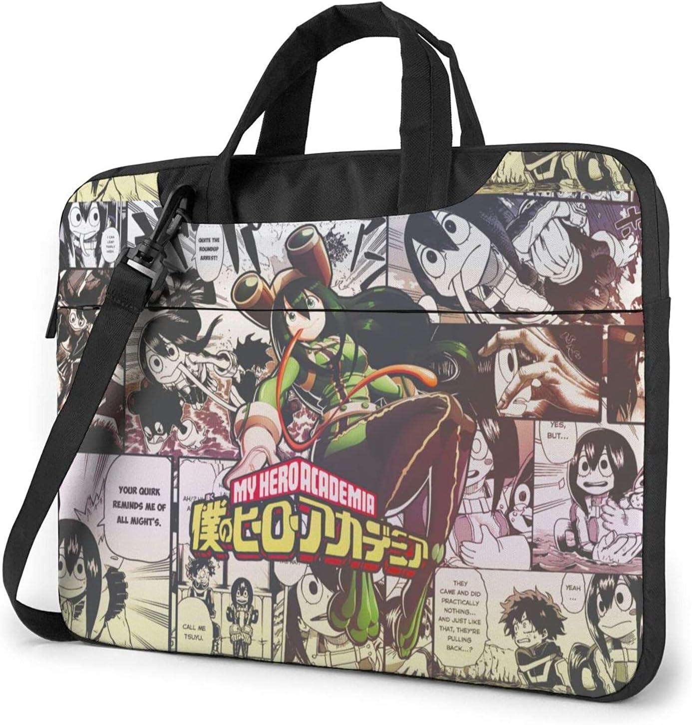 High quality ECHOECVFG My Hero mart Academia Asui Tsuyu inch 13 Laptop 14 bag