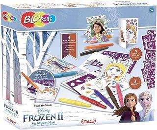 Rocco Toys 23572 Lot de 2 Blopens Maxi La Reine des Neiges