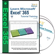 Microsoft Excel 365 Tutorials Course 2 DVDs 197 Videos over 12 Hours of computer software training
