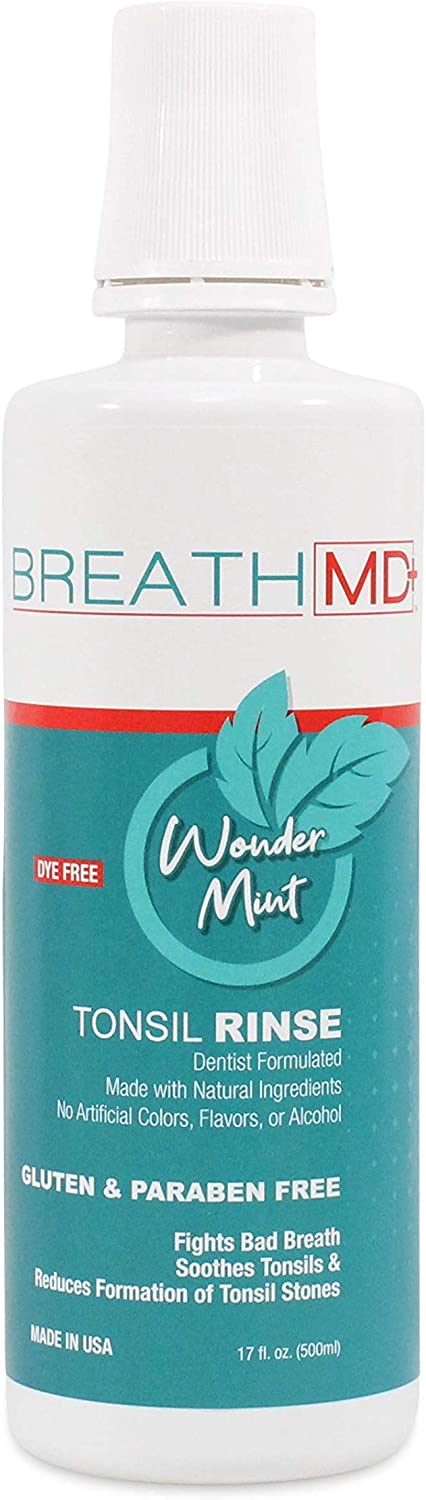 BreathMD Tonsil Rinse for Natural Stone 2021 new Bre Bad Removal Popular popular