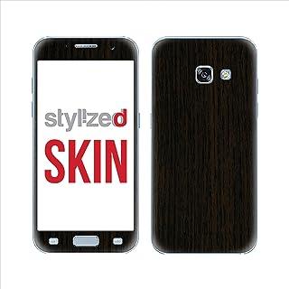 Stylizedd Premium Vinyl Skin Decal Body Wrap For Samsung Galaxy A3 (2017) - Wood Dark Tamo