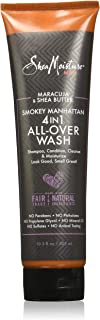 Shea Moisture Maracuja And Shea Butter Smokey Manhattan 4-In-1 All Over Wash For Unisex, 304.6 ml
