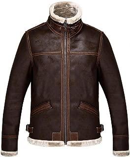 Resident Evil 4 Men's Winter Thicken Faux Leather Jacket Warmer Coat