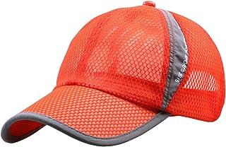 2f4c5712 Panegy Unisex Mesh Brim Tennis Cap Outside Sunscreen Quick Dry Adjustable  Baseball Hat