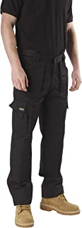 SITE KING Mens Multi Pocket Cargo Combat Work Trousers Size 28 to 52 with Knee Pad Pockets