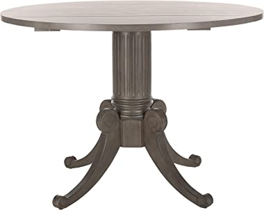 Safavieh Home Forest Traditional Grey Wash Drop Leaf Dining Table