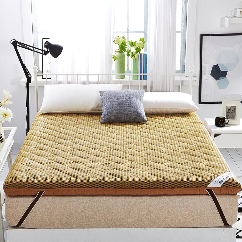 Breathable Thicken Floor Mattress,Memory Foam Floor Tatami mat Double face Sleeping Mattress Padded Bed Tweezers Pad mat Japanese futon-B 120x200cm(47x79inch)