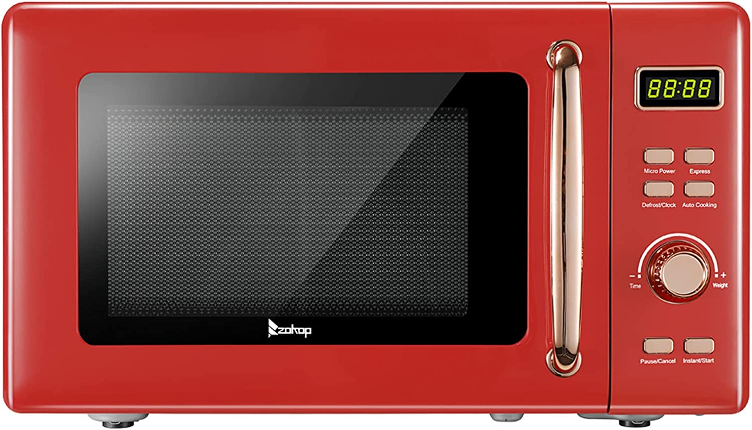 Excellent Savins gt1-ojy Red 20L 0.7cuft With Max 52% OFF Display Go Microwave Retro