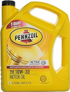 Pennzoil 550038360 10W-30 Motor Oil (SN/GF-5) 5qt.