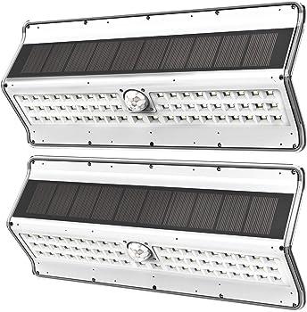 2-Pack EZBASICS 56 LED Wireless Motion Sensor Solar Lights