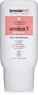 Sponsored Ad - brazzoMD Arnica Cream, 2 Ounces, Plastic Surgeon Developed Eye Face Hand and Body Cream, Homeopathic Natura...