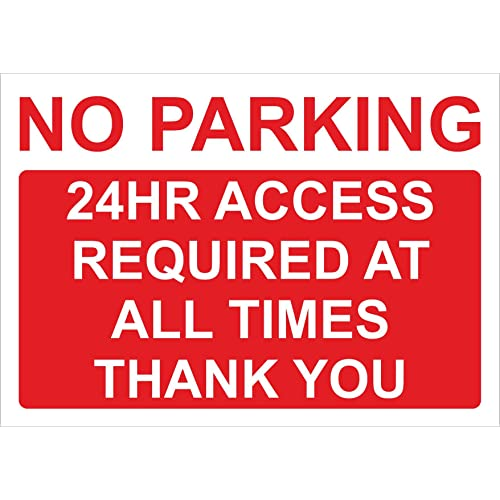 Personalised metal Disabled Parking Sign with house number