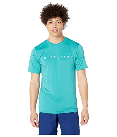Rip Curl Dawn Patrol Surf Tee Short Sleeve (Teal) Men