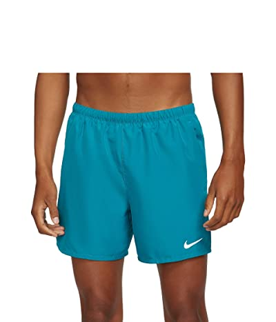 Nike Dri-FIT Challenger Shorts 5 Brief (Blustery/Reflective Silver) Men