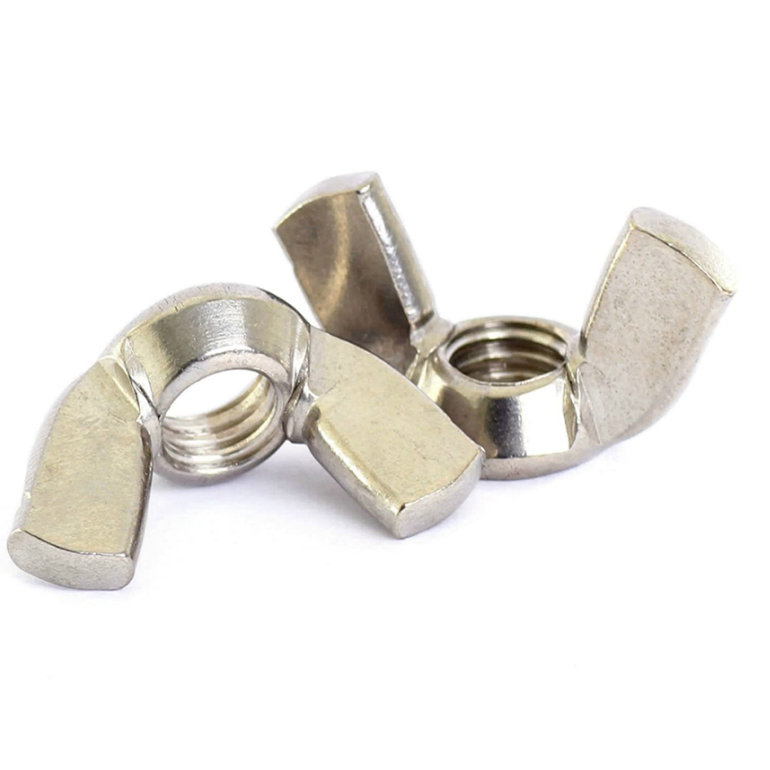 Bolt gift Base 12mm Max 48% OFF A2 Stainless Steel Nut Wing Nuts DIN 31 Butterfly
