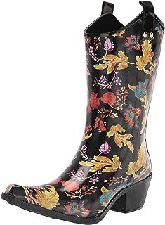 Nomad Women's Yippy Rain Boot, fall Flourish, 10 Medium US