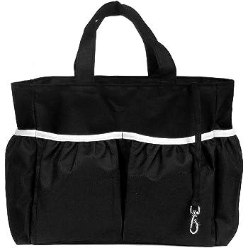 kilofly Diaper Bag Insert Organizer, Multiple Pockets, Black
