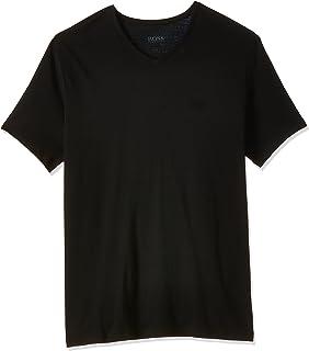 BOSS Men's Cotton V-neck T-Shirt (Pack of 2)