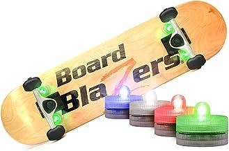Koowheel 4Pcs Skateboard LED Lights Night Safety Warning Lamp for Longboard