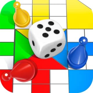 Indian Raja Classic Ludo Star: Parchis Board Game Timekiller King