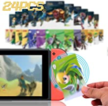 $20 » [24 Pcs Newest Version] Z Series NFC Ami-bo Cards for the Legend of Z BOTW, with Wolf/ Awakening/Young,Compatible for Swit...