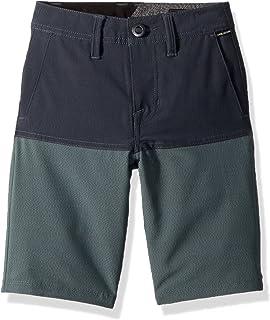 "Volcom boys SNT BLOCK 18"" HYBRID 4 WAY STRETCH SHORT Casual Shorts"