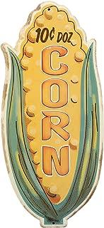 Open Road Brands Corn Embossed Metal Sign
