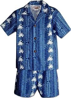 ココナッツツリーパネルBoys Outfit
