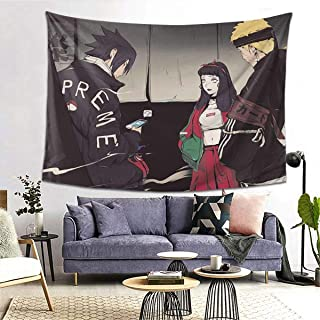 Anime Naruto Art Decor Tapestry For Bedroom, Living Room, College Dormitory Room, Home Decoration, Personalized Images, Custom Images, Custom Decorations (80 X 60inch (Horizontal Version))