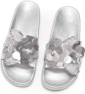 80206d270a30ea Women Bright Slippers Spring Summer Autumn Home Beach Slippers Home Flip  Flops Flat Shoes 988