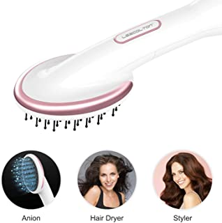 Lescolton One Step Hair Dryer & Styler Hot Air Paddle Brush | Hair Dryer Straightener For All Hair Types | Eliminate Frizzing, Tangled Hair & Knots, Promote Healthy & Shiny Hair Locks