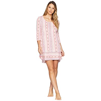 Jockey Printed Sleepshirt (Party Stripe) Women