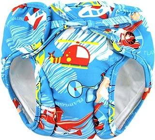 Yellow Flowers Gentle Meow Baby Swim Trunks 0-3 Infants Cute Swimsuit Leakproof Swim Shorts