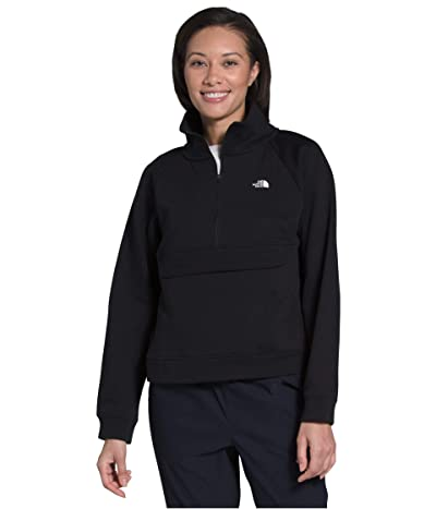 The North Face Explore City 1/4 Zip Sweatshirt (TNF Black) Women